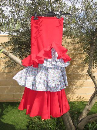 a79242e46 Falda flamenca niña de segunda mano en la provincia de Madrid en ...