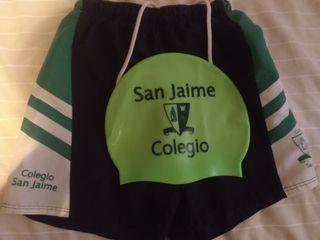 Bañador San Jaime + gorro piscina