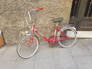bicicleta antigua plegable Torrox
