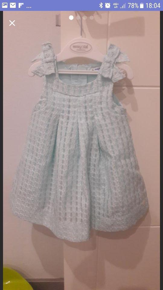 Vestido Mayoral de 12 a 18 meses