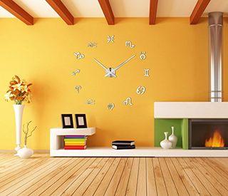 NUEVO. Reloj pared zodíaco adhesivo