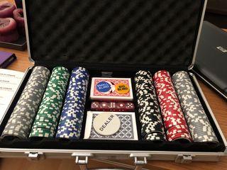 Estuche de póker
