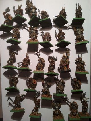 Ejército 27 hombres bestia - Warhammer