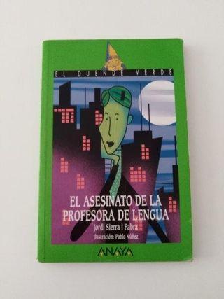 llibre lectura ESO, El asesinato de la profesora