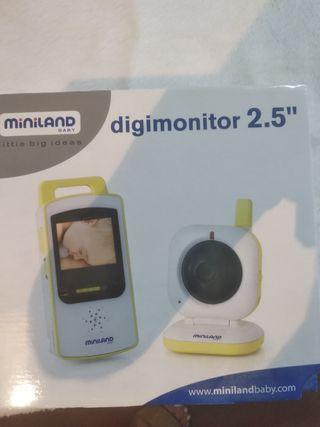 monitor vigilancia bebé