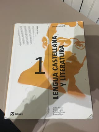 Libro lengua y literatura 1bachillerato casals