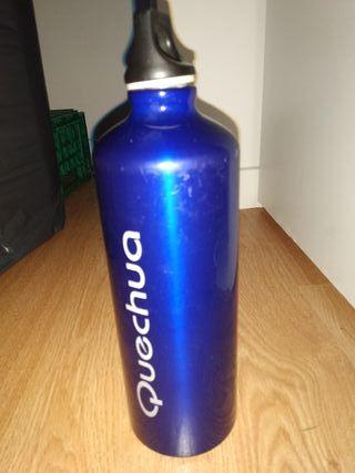 Botella aluminio, quechua