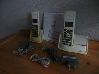 Telefono duo Alcatel versats D150