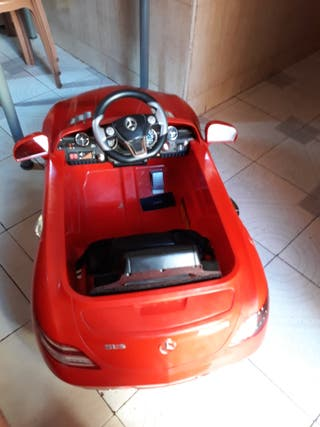coche eléctrico sin mando