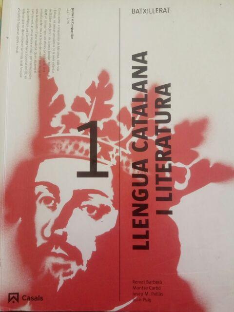 Llibre De Llengua Catalana I Literatura 1 Batx De Segunda Mano Por 8