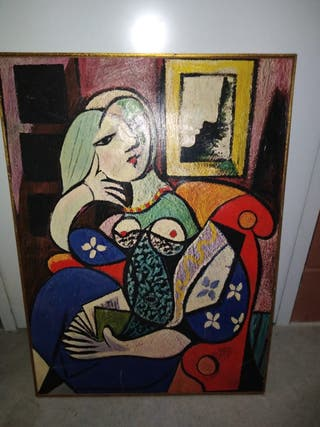 Woman with book. Picasso.