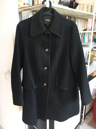 Abrigo de invierno 100% lana - Maje - talla 38