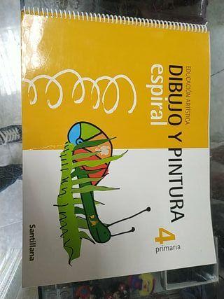 Libro Educación Artística 4 Primaria Santillana
