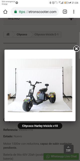 Citycoco triciclo E-1