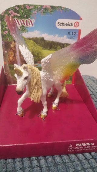 unicornio decoracion 12 cm aprox