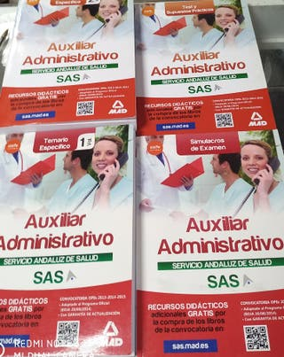 Libros Auxiliar Administrativo SAS