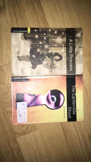 Dos libros de lectura Oxford
