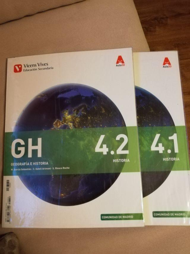 Libros 4 ESO GEOGRAFÍA E HISTORIA