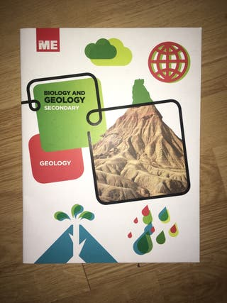 Libro Geología y Biología secundaria en Inglés