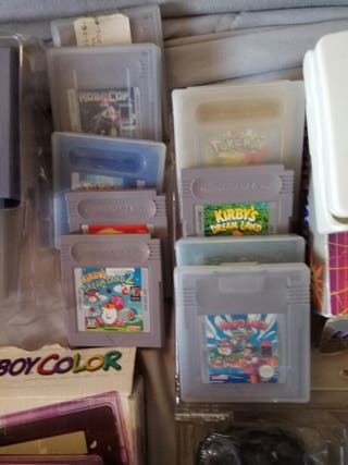 pack Gameboy/Gameboy color