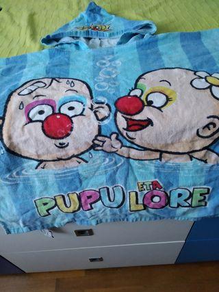 toalla capa