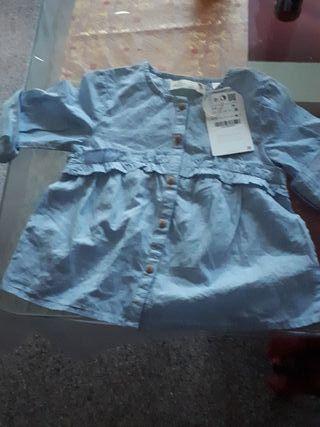 blusa de niña sin estrenar