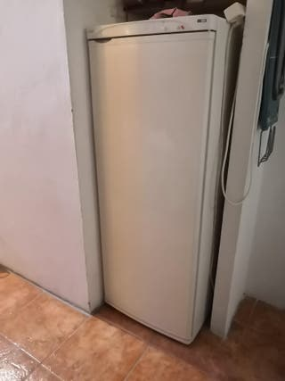 Congelador vertical.