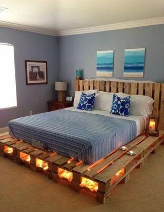 cama matrimonio de diseño
