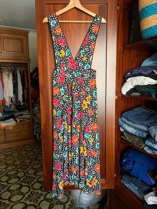 Vestido flores TOPSHOP