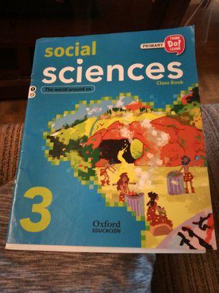 Vendo libro Social Sciences 3 Oxford (Inglés)