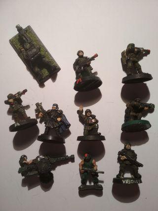 Comando soldados - Warhammer