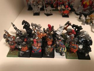 Warhammer rompehierros enanos