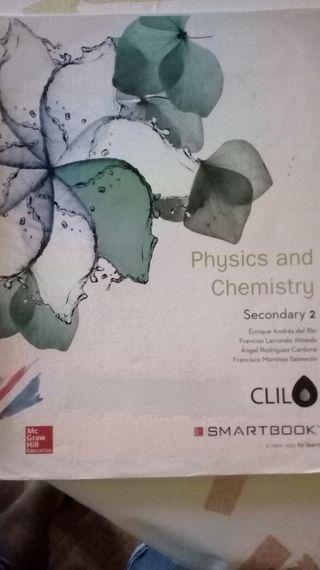 Libro segundo eso de fisica y química en bilingüe