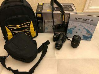 Kit completo Nikon D3100