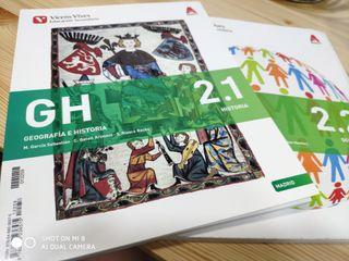 Geografía e Historia 2 secundaria