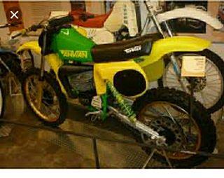 clasica moto cross años 80 Anvian 250cc