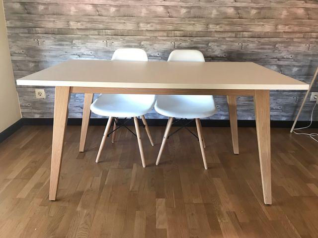 Mesa comedor estilo nordico