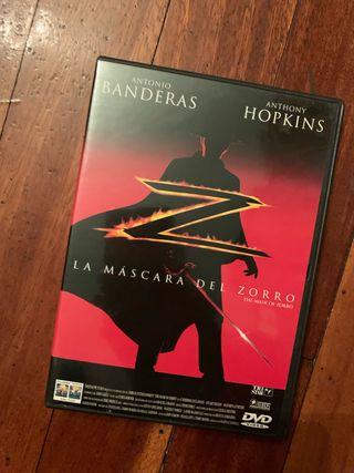 La máscara del zorro DVD