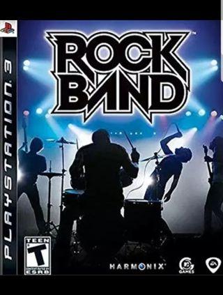 ROCK BAND PARA PS3