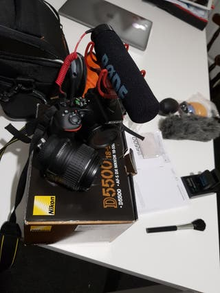 Nikon D5500 Digital SLR Camera 24.2 MP