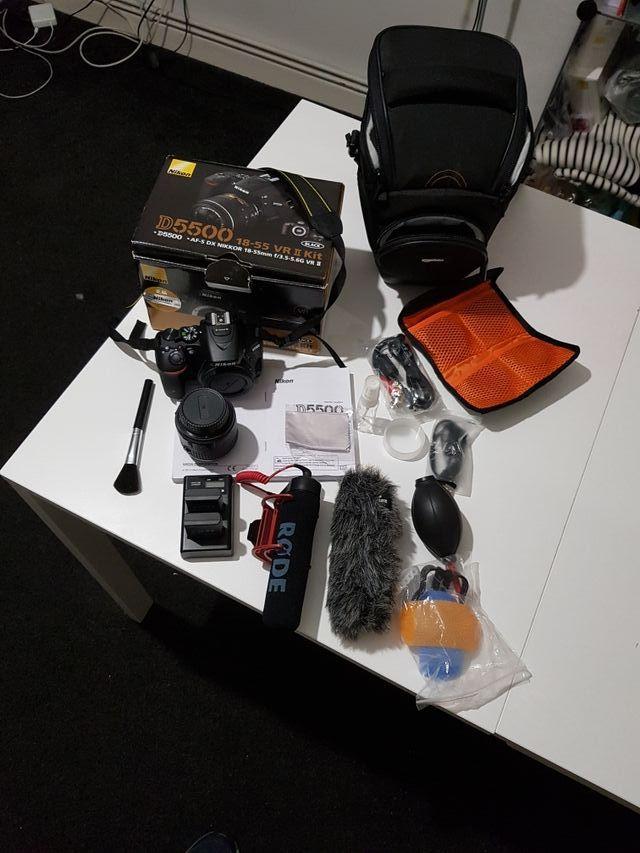 Nikon D5500 Digital SLR Camera 24.2 MP