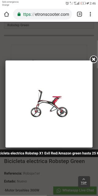 Bicicleta electrica Robstepñ Green