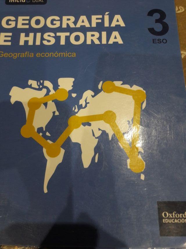 libro geografía e historia 3 eso