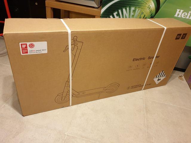 Patinete eléctrico Xiaomi Mijia blanco precintado