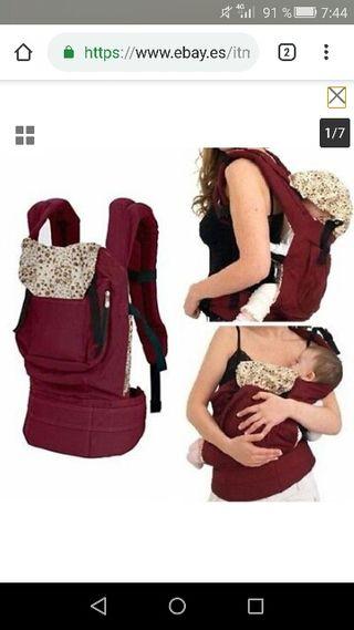 mochila ergonomica bebe