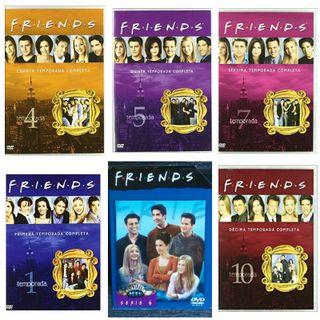DVD SERIE FRIENDS