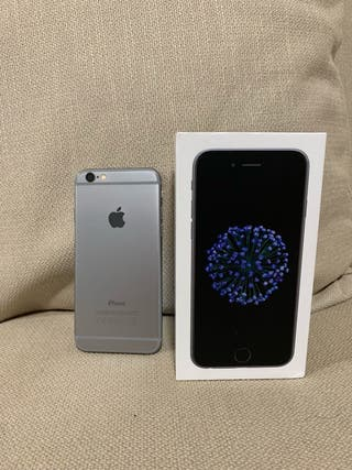 iPhone 6 space grey 32 gigas