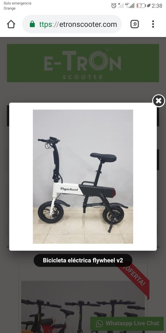 Scooter eléctrico E-2