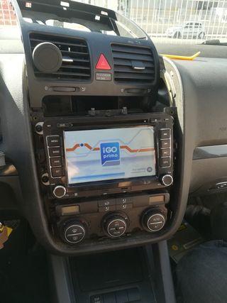 Radio navegador vw
