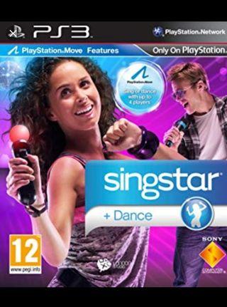 SINGSTAR + DANCE PS3